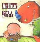 Couverture du livre « Arthur et sa boîte à trésors » de Peter Teunissen aux éditions Clavis