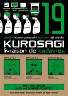 Couverture du livre « Kurosagi ; livraison de cadavres T.19 » de Eiji Otsuka et Housui Yamazaki aux éditions Pika
