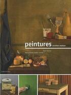 Couverture du livre « Peintures ; recettes maison » de Frederic Lecloux et Marie Vanesse aux éditions Le Bec En L'air