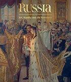 Couverture du livre « Russia ; art, royalty and the Romanovs » de Caroline De Guitaut aux éditions Royal Collection