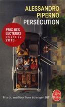 Couverture du livre « Persécution » de Alessandro Piperno aux éditions Lgf