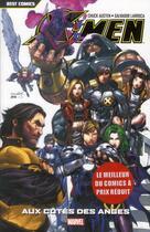 Couverture du livre « X-Men T.2 ; aux côtés des anges » de Chuck Austen et Salvador Larroca aux éditions Panini