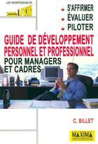 Couverture du livre « Guide developpem perso profess » de Claude Billet aux éditions Maxima Laurent Du Mesnil