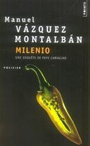Couverture du livre « Milenio » de Vazquez Montalban Ma aux éditions Points