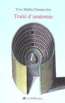 Couverture du livre « Traite d'anatomie » de Mabin-Chenneviere Yv aux éditions La Difference