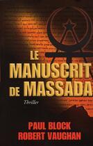Couverture du livre « Le manuscrit de Massada » de Vaughan aux éditions Viamedias