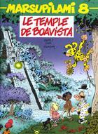 Couverture du livre « Marsupilami T.8 ; le temple de Boavista » de Yann et Batem et Andre Franquin aux éditions Marsu Productions