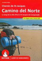Couverture du livre « Camino del norte (fr) » de Cordula Rabe aux éditions Rother