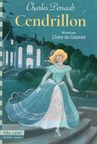 Couverture du livre « Cendrillon ou la petite pantoufle de verre » de Charles Perrault aux éditions Gallimard-jeunesse
