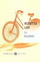 Couverture du livre « La bicyclette » de Rosetta Loy aux éditions Liana Levi
