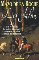Couverture du livre « Jalna t.3 » de Mazo De La Roche aux éditions Omnibus