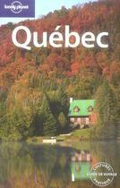 Couverture du livre « Québec (5e édition) » de Catherine Metayer aux éditions Lonely Planet France
