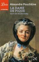 Couverture du livre « La dame de pique ; Doubrovsky » de Alexandre Pouchkine aux éditions J'ai Lu