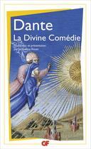 Couverture du livre « La divine comédie » de Dante Alighieri aux éditions Flammarion