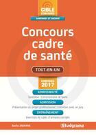 Couverture du livre « Concours cadre de santé » de Badia Jabrane aux éditions Studyrama