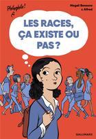 Couverture du livre « Les races, ça existe ou pas ? » de Magali Bessone et Alfred aux éditions Gallimard-jeunesse