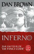 Couverture du livre « Inferno » de Dan Brown aux éditions Lgf