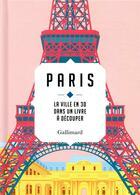 Couverture du livre « Paris, la ville en 3D » de Sandra Lawrence aux éditions Gallimard-loisirs