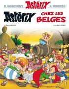 Couverture du livre « Astérix t.24 ; Astérix chez les belges » de Rene Goscinny et Albert Uderzo aux éditions Hachette