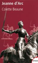 Couverture du livre « Jeanne d'Arc » de Colette Beaune aux éditions Perrin