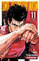 Couverture du livre « One-Punch Man T.11 » de Yusuke Murata et One aux éditions Kurokawa