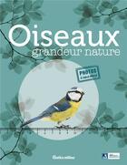 Couverture du livre « Oiseaux grandeur nature » de Guilhem Lesaffre aux éditions Rustica