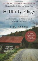 Couverture du livre « HILLBILLY ELEGY - A MEMOIR OF A FAMILY AND CULTURE IN CRISIS » de J. D. Vance aux éditions Harper Collins
