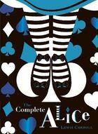 Couverture du livre « Alice in wonderland v&a collector's edition » de Lewis Carroll aux éditions Penguin Uk