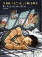 Couverture du livre « La femme accident T.2 » de Olivier Grenson et Denis Lapiere aux éditions Dupuis