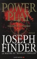 Couverture du livre « Power play » de Finder-J aux éditions Albin Michel