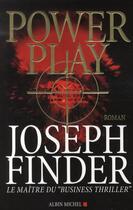 Couverture du livre « Power play » de Finder-J aux éditions Albin Michel