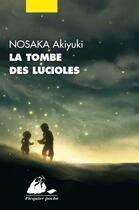 Couverture du livre « La tombe des lucioles » de Akiyuki Nosaka aux éditions Picquier