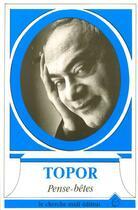 Couverture du livre « Pense-betes » de Roland Topor aux éditions Cherche Midi