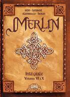 Couverture du livre « Merlin ; intégrale t.6 à t.10 » de David et Bourgier aux éditions Soleil