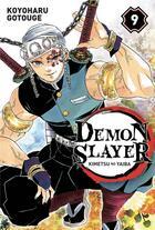 Couverture du livre « Demon slayer T.9 » de Koyoharu Gotoge aux éditions Panini