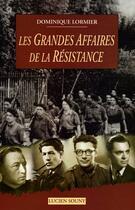 Couverture du livre « Aed grandes affaires de la res » de Dominique Lormier aux éditions Lucien Souny