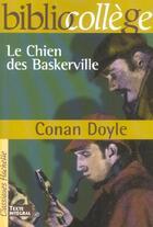 Couverture du livre « Le chien des Baskerville » de Arthur Conan Doyle et Stephane Guinoiseau aux éditions Hachette Education