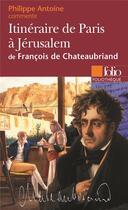 Couverture du livre « Itinéraire de paris à jerusalem » de Antoine Philippe aux éditions Folio