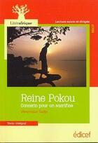 Couverture du livre « Reine Pokou ; concerto pour un sacrifice » de Véronique Tadjo aux éditions Edicef