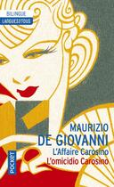 Couverture du livre « L'affaire Carosino » de Maurizio De Giovanni aux éditions Langues Pour Tous