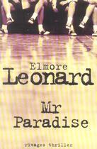 Couverture du livre « Mr Paradise » de Leonard Elmore aux éditions Rivages