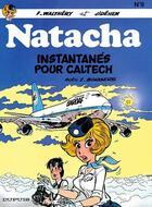Couverture du livre « Natacha T.8 ; instantanés pour Caltech » de Jidehem et Etienne Borgers et Francois Walthery aux éditions Dupuis