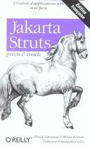 Couverture du livre « Jakarta struts precis et concis » de Cavaness aux éditions O Reilly France