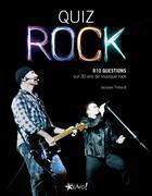 Couverture du livre « Quiz rock » de Jacques Thibault aux éditions Bravo