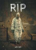Couverture du livre « RIP T.1 ; Derrick, je ne survivrai pas à la mort » de Monier et Gaet'S aux éditions Petit A Petit