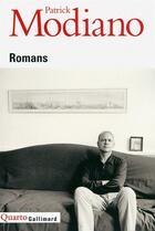 Couverture du livre « Romans » de Patrick Modiano aux éditions Gallimard