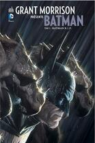 Couverture du livre « Grant Morrison présente Batman T.2 ; Batman R.I.P. » de Collectif et Grant Morrison aux éditions Urban Comics