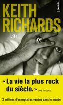 Couverture du livre « Life » de Keith Richards et James Fox aux éditions Points