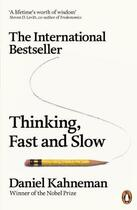Couverture du livre « THINKING, FAST AND SLOW » de Daniel Kahneman aux éditions Adult Pbs