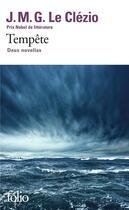 Couverture du livre « Tempête » de Jean-Marie Gustave Le Clezio aux éditions Gallimard